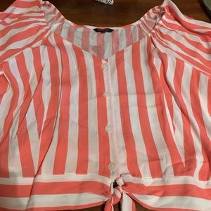 DONATED STRIPPED SHIRT